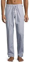 Hanro Night & Day Check Lounge Pants, Blue