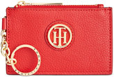 Tommy Hilfiger Lucky Charm Pebble Leather ID Coin Purse