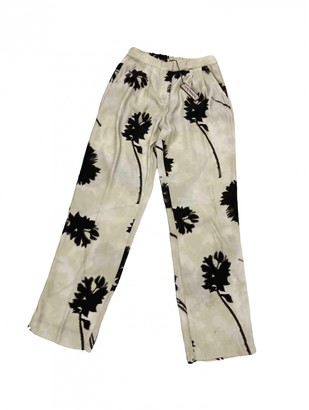 Maliparmi Beige Viscose Trousers