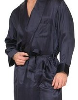 Intimo Men's Classic Silk Robe