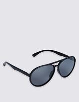 M&S Collection Polarised Aviator Sunglasses