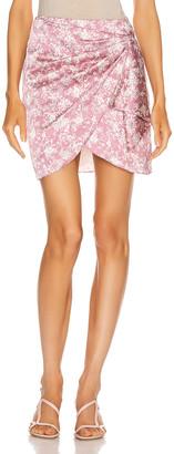 Caroline Constas Koren Skirt in Mauve | FWRD