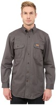 Carhartt Sandstone Oakman Work Shirt Men's Short Sleeve Button Up