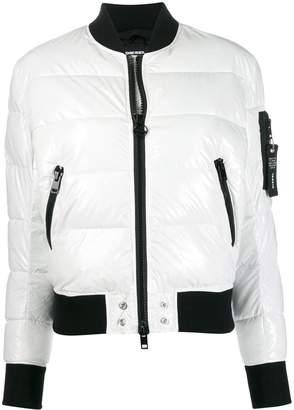 Diesel padded bomber jacket
