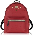mcm stark small red odeon backpack