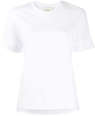 3.1 Phillip Lim snap button cuffs T-shirt