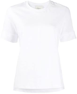 3.1 Phillip Lim snap button cuffs T-shirt