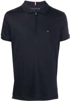 Tommy Hilfiger Zipped Down Polo Shirt