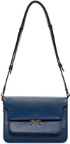 Marni Blue Small Trunk Bag