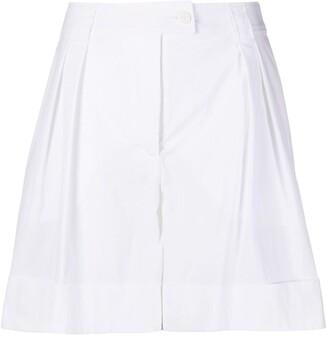 Moschino High Waist Tailored Shorts