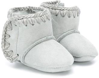 Mou Kids Eskimo fur-lined boots
