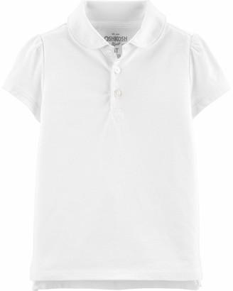 Osh Kosh OshKosh Girls' Toddler Short Sleeve Uniform Polo
