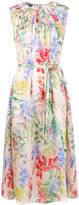 Rochas floral print dress - women - Silk - 40