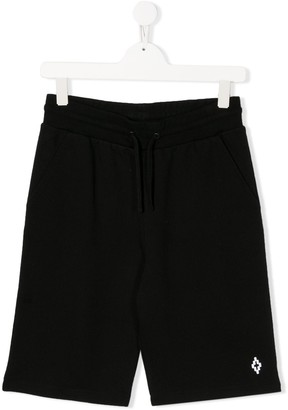 Marcelo Burlon County of Milan Kids TEEN elasticated track shorts