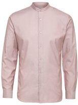 Selected Homme Fort Mandarin Collar Sport Shirt