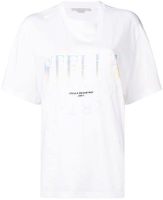 Stella McCartney multi logo T-shirt