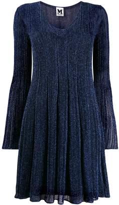 M Missoni metallic V-neck dress
