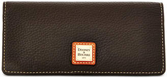 Dooney & Bourke Pebble Leather Slim Wallet