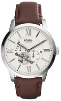 Fossil Mens Townsman Leather Watch