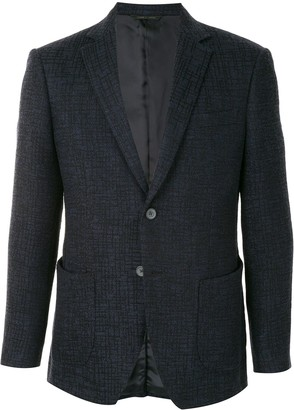 Durban Fitted Single-Breasted Blazer