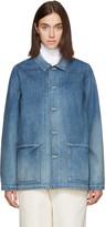 Chimala Blue Distressed Denim Jacket