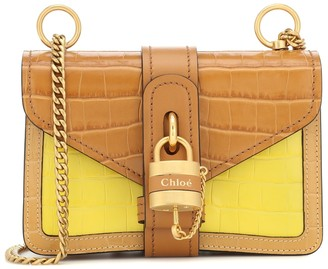 Chloé Aby Chain Mini leather shoulder bag