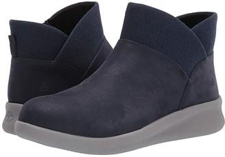 Clarks Sillian 2.0 Dusk (Navy Synthetic Nubuck) Women's Boots