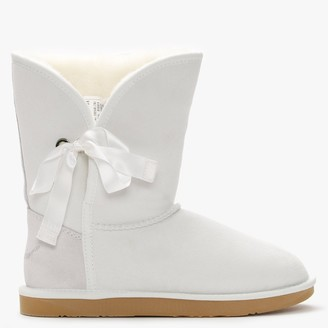Australia Luxe Collective Just Married White Double-Face Ankle Boots