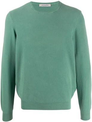 Fileria Long-Sleeve Cotton Jumper