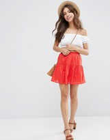 Asos Tiered Mini Skirt