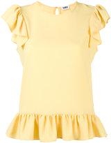 Sonia By Sonia Rykiel sleeveless ruffle top