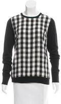 Equipment Wool Gingham Sweater w/ Tags
