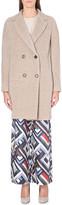 Max Mara Double-breasted alpaca and wool-blend coat