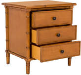 One Kings Lane Erickson 3-Drawer Nightstand - Caramel