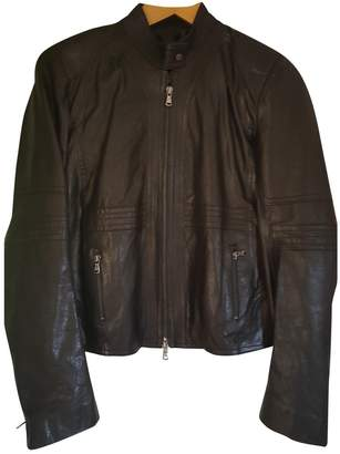 Ventcouvert Black Leather Jacket for Women