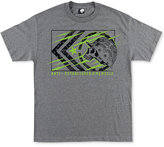Metal Mulisha Men's Tracker Graphic-Print Logo Cotton T-Shirt