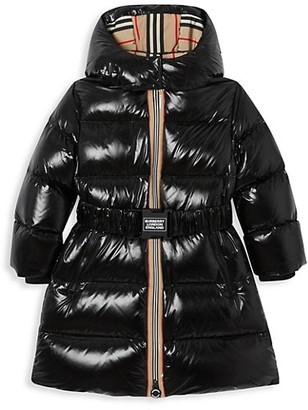 Burberry Little Girl's & Girl's Abriana Down Puffer Jacket