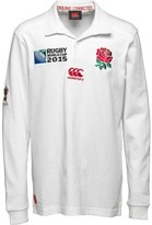Canterbury of New Zealand Junior England Classic Home Shirt Bright White