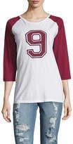 Anine Bing Women's Number 9 Raglan T-Shirt