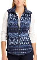 Chaps Women's Faux Shearling Vest