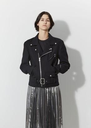 Junya Watanabe Wool Serge Moto Jacket