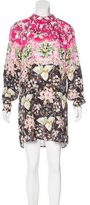 Mary Katrantzou Digital Print Silk Dress