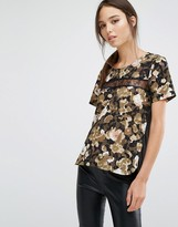 French Connection Adeline Dream Printed Top