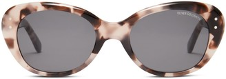 Oliver Goldsmith Sunglasses Sophia 1958 Pink Tortoiseshell