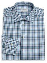 Eton Checked Dress Shirt