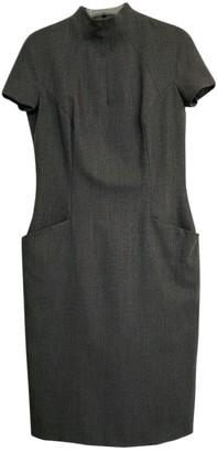 Jean Louis Scherrer Jean-louis Scherrer Grey Wool Dress for Women
