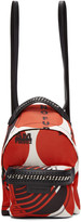Stella McCartney Red thanks Girls Mini Falabella Go Backpack
