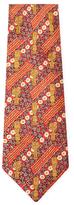 Vintage Red Totem Silk Tie