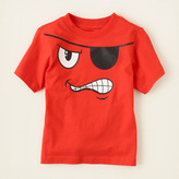 Children's Place Scribble pirate graphic tee