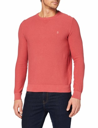 Izod Men's Texture Crew Neck Sweater Jumper